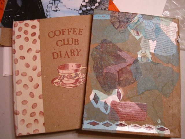 Remembering Mail Art Part 3: Coffee Club Diary