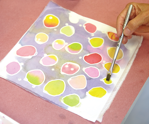 Surface Design And Encaustic Create Mixed Media